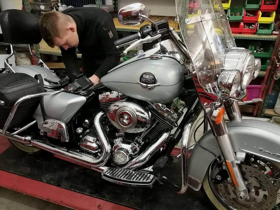 moto scooter entretien